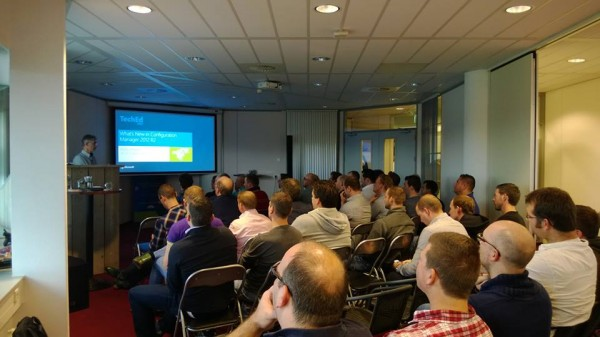 Wally Mead at IT-Concern during WMUG NL