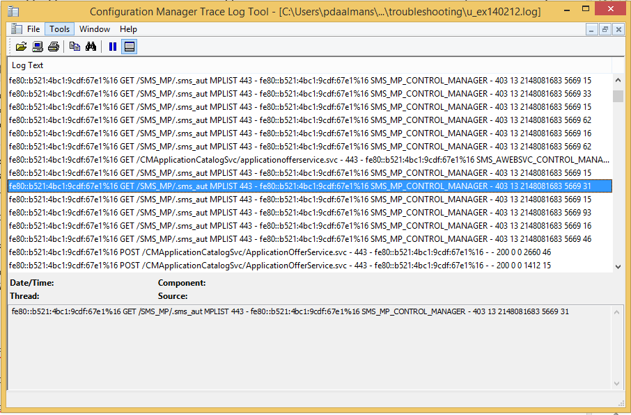 ConfigMgr 2012 R2 Internet facing MP on Windows Server 2012