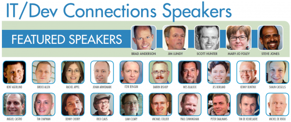 What a great list of speakers next week.